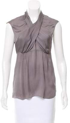 Prada Sleeveless Draped Top