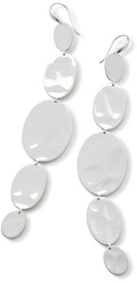 Ippolita 925 Classico Extra Long Linear Oval Earrings