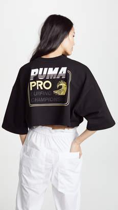 Puma FENTY x Cropped Crew Neck T-Shirt
