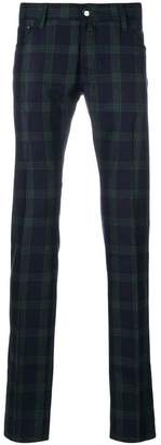 Jacob Cohen classic checked chinos