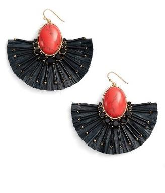 Women's Kate Spade New York Fiesta Fringe Drop Earrings $88 thestylecure.com