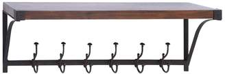 UMA Metal Wood Wall Shelf Hook