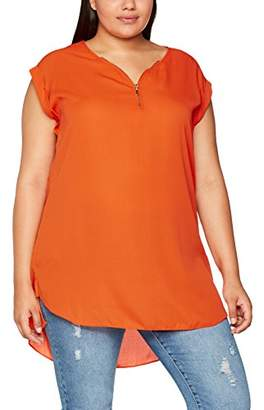 New Look Curves Women's Zip Tunic T-Shirt