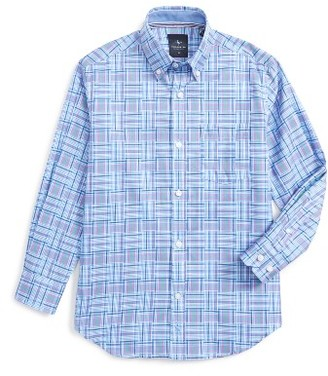 Boy's Tailorbyrd Plaid Dress Shirt $49.50 thestylecure.com