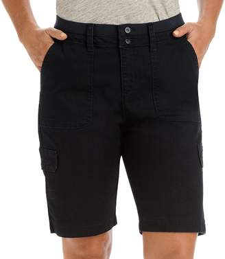 Lee Women's Avery Comfort Waist Cargo Bermuda Shorts