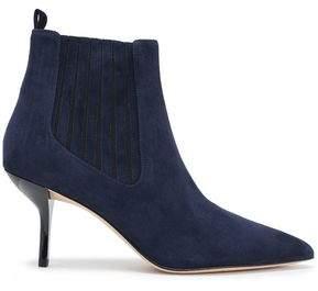 Diane von Furstenberg Mollo Suede Ankle Boots