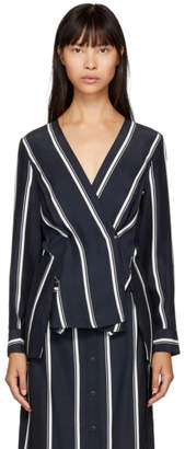 Rag & Bone Navy Debbie Blouse