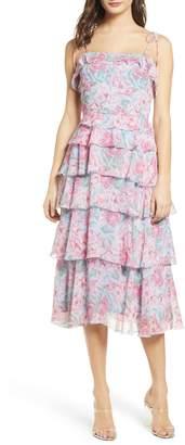 WAYF Essie Tiered Dress