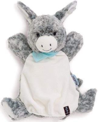 Kaloo Doudou Hand Puppet - Donkey Soft Toy