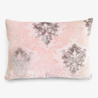 Kevin OBrien Kevin O'Brien Brocade Velvet Pillow Blush