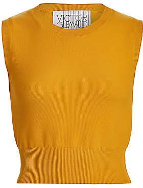 Victor Glemaud Women's Sleeveless Merino Wool Knit Top