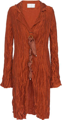 Peet Dullaert Crushed Ribbon-Detailed Silk Jacket