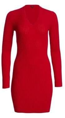Rag & Bone Brea Knit Mini Sweater Dress