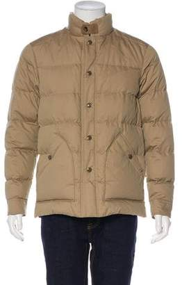 Tom Ford Quilted Silk-Blend Down Jacket w/ Tags