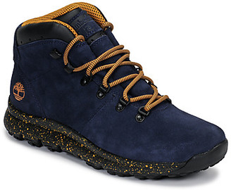 WORLD HIKER MID men's Mid Boots in Blue