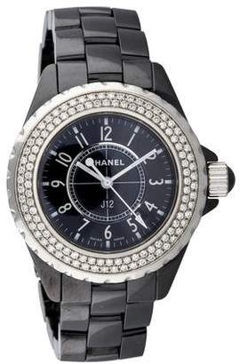 Chanel J12 Watch $5,795 thestylecure.com