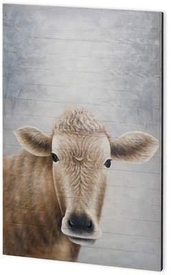 Wayfair 'Betsie' Oil Painting Print on Wood
