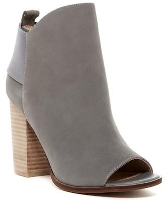 Kelsi Dagger Gemma Open Toe Boot $170 thestylecure.com