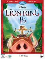 Disney The Lion King 1 1/2 Blu-ray Combo Pack