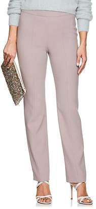 Giorgio Armani Women's Virgin Wool Flat-Front Trousers