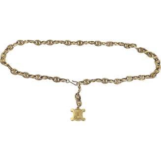 Celine Gold Metal Belts