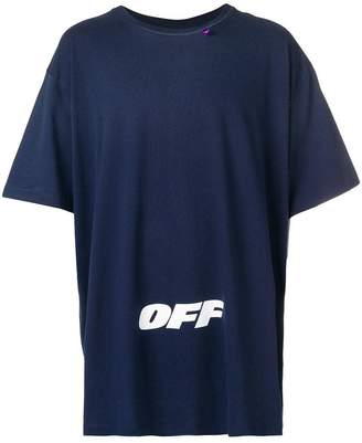 Off-White printed relaxed T-shirt