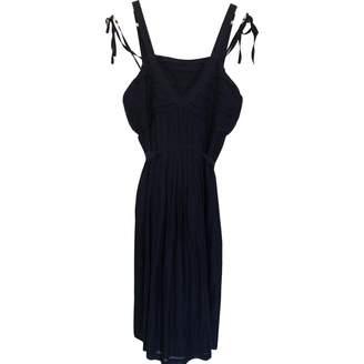 BOSS ORANGE Blue Cotton Dress for Women