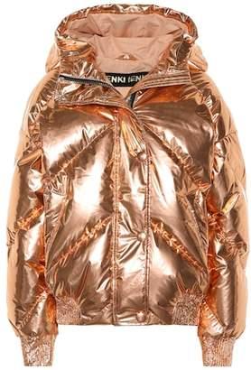 Dunlop Ienki Ienki metallic down jacket