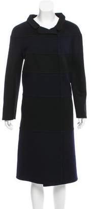 Valentino Paneled Wool Coat w/ Tags
