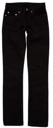 Helmut Lang Mid-Rise Corduroy Pants