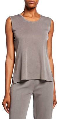 Misook Plus Size Solid Wrinkle-Resistant Tank