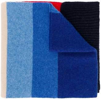 Paul Smith rainbow striped scarf