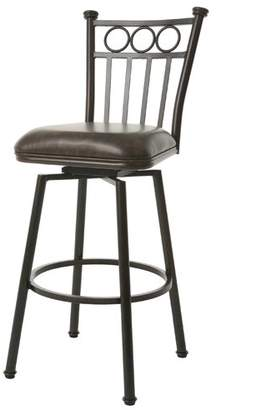 "Fleur De Lis Living Gustavo 34"" Swivel Bar Stool"