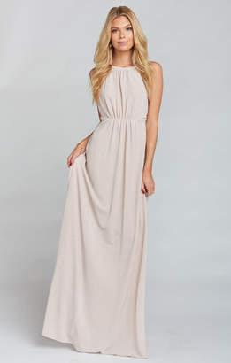 Show Me Your Mumu Amanda Maxi Dress ~ Dancing Queen Shine Blush