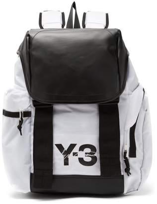 Y-3 - Logo Print Backpack - Mens - White