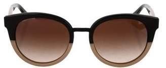 Tory Burch Cat-Eye Gradient Sunglasses