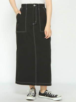 WEGO (ウィゴー) - BROWNY BROWNY/(L)ステッチロングスカート ウィゴー スカート