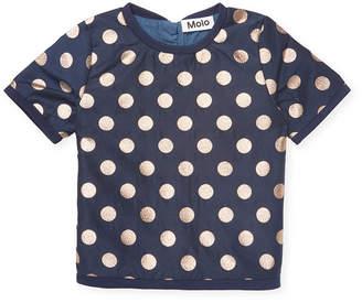 Molo Metallic Polka Dot T-Shirt