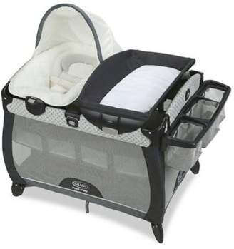 Graco Pack 'n Play Quick Connect Portable Napper Deluxe with Bassinet McKinley $167.99 thestylecure.com