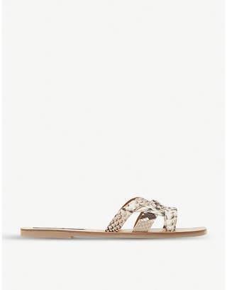 Steve Madden Sicily woven-front sandals