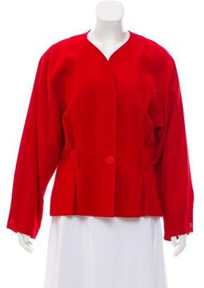 Christian Dior Structured Wool Jacket