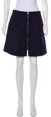 Risto Wool Mini Skirt w/ Tags
