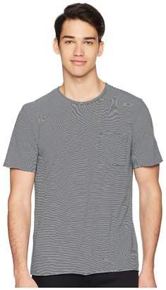 Vince Feeder Stripe Short Sleeve Shirt