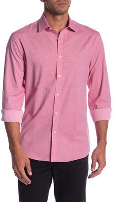 Tommy Hilfiger Howard Checkered Slim Fit Dress Shirt