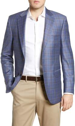 Peter Millar Flynn Plaid Wool Sport Coat