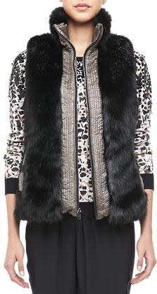 Marc by Marc Jacobs Logan Reversible Puffer Vest