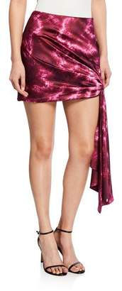 Cinq à Sept Ryder Side-Tie Mini Skirt