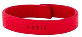 Akris Leather Wrap Bracelet