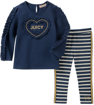 Juicy Couture 2Pc Legging Set