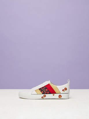 Diane von Furstenberg The Tess Leather Sneaker